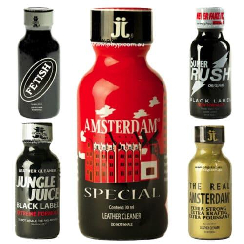 5 Bottle Premium Poppers 30ml