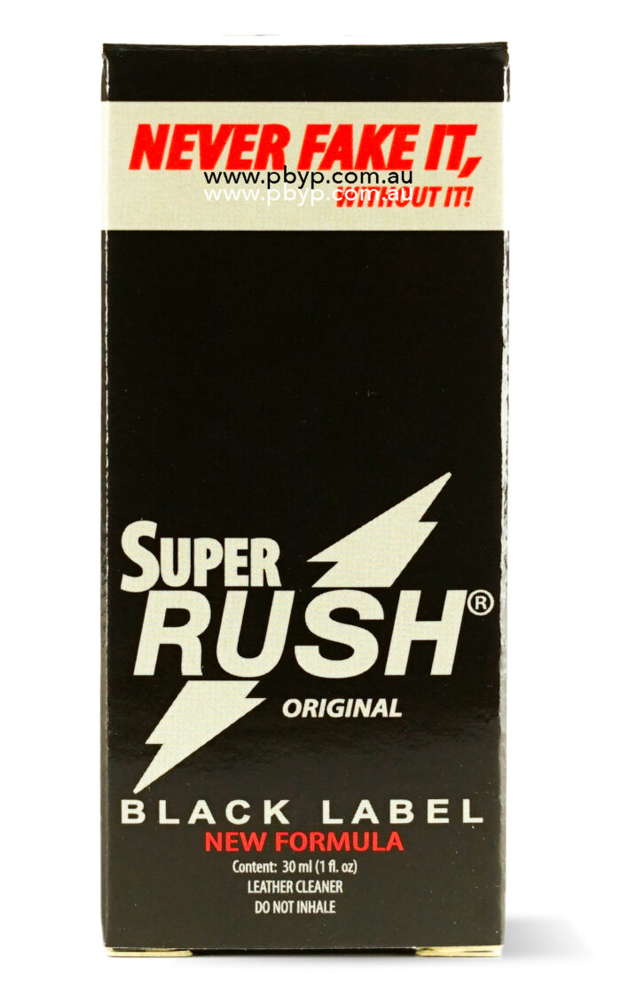 Super Rush Black Label 30ml