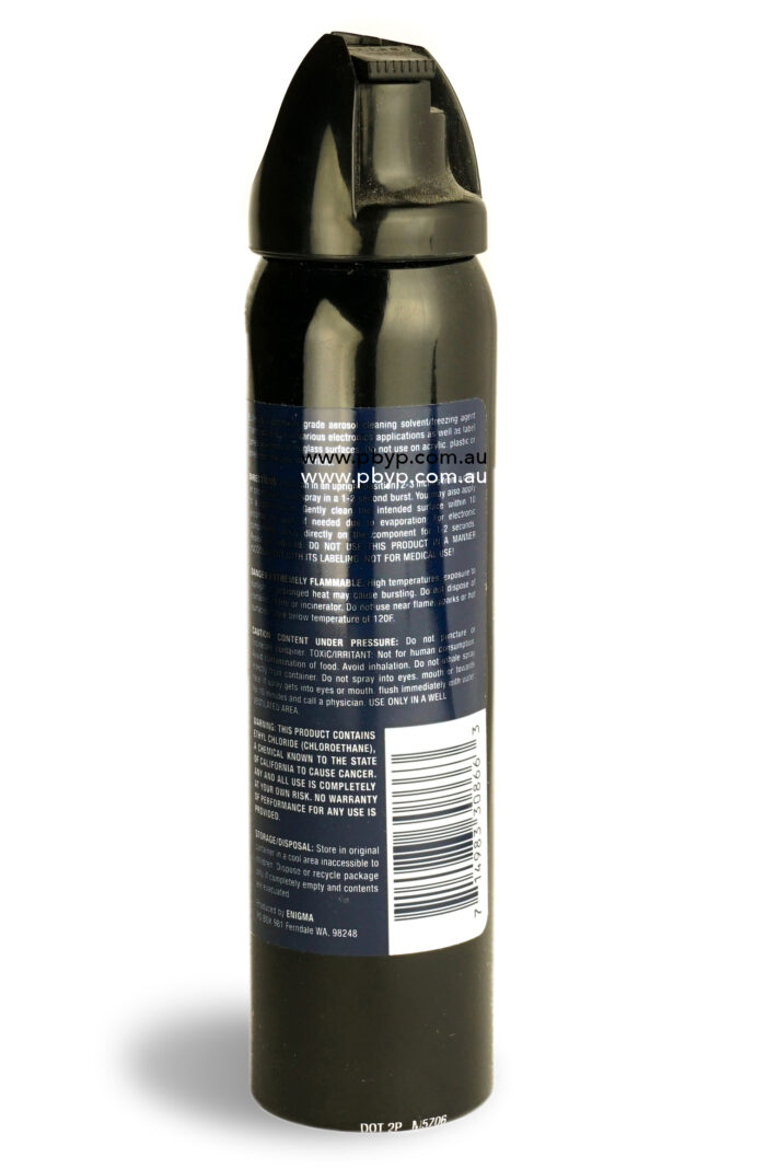 Bullet Ethyl Chloride 130.5g – Video Head Cleaner (Ethyl Chloride)