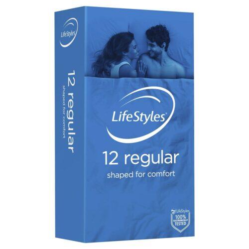 Lifestyles Regular Condoms 12 Pack