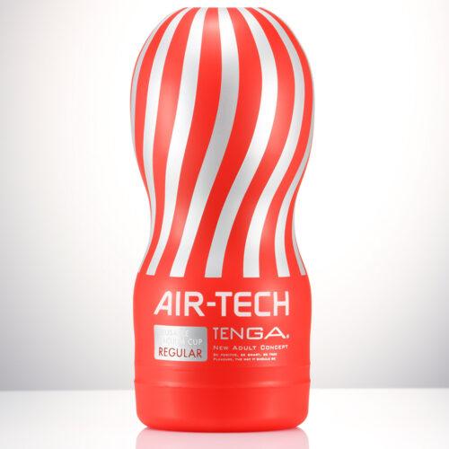 Tenga Air Tech Reusable Vacuum Cup Regular Red
