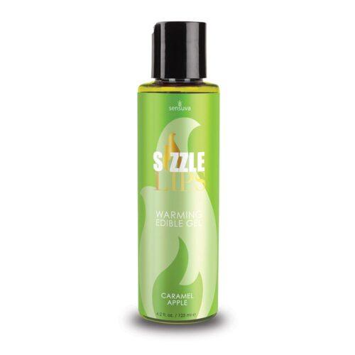 Sensuva Sizzle Lips Warming Gel Caramel Apple 125ml