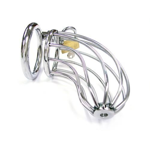 Rouge Chastity Cock Cage with Padlock