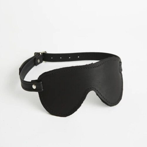 S(A)X Plush Leather Blindfold Aviator Buckle