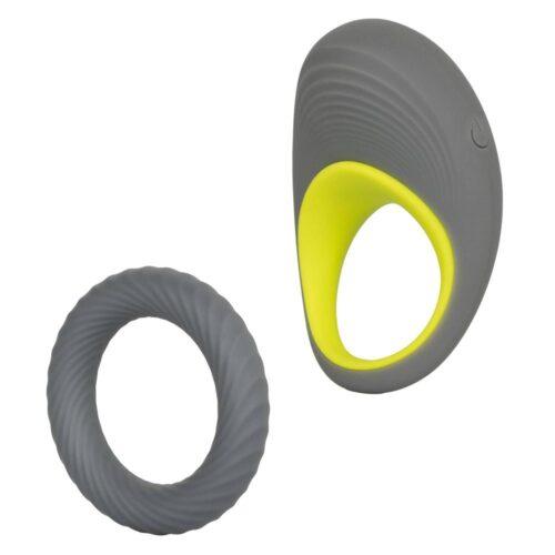 Calexotics Link Up Edge Vibrating Cock Ring