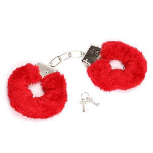 NMC Fluffy Love Cuffs - Red