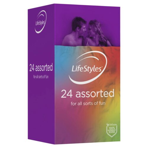 Lifestyles Assorted Condoms 24 Pack
