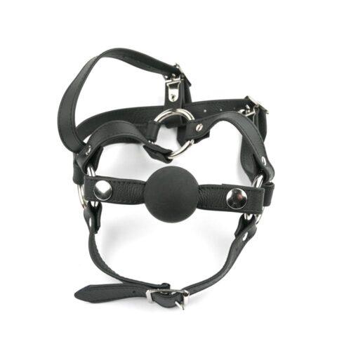 S(A)X Ball Gag Head Harness