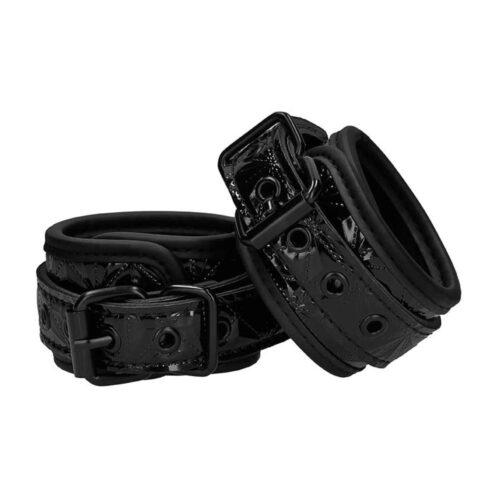 Shots OUCH! Luxury Hand Cuffs - Black