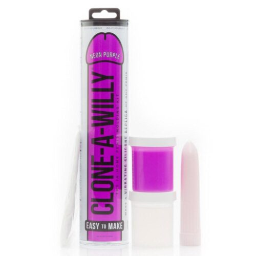 Clone A Willy Kit Vibrating Glow In The Dark - Purple