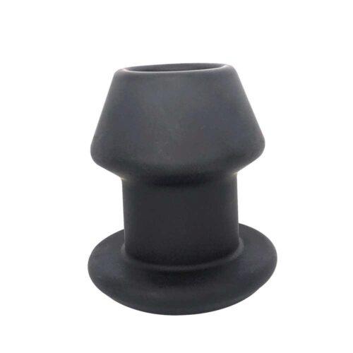 Brutus Gobbler Silicone Tunnel Butt Plug L - Black