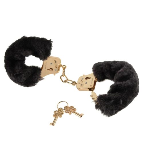 Pipedream Fetish Fantasy Gold Deluxe Furry Cuffs
