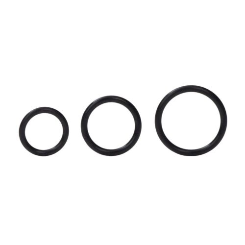 Calexotics Silicone Support Cock Rings - Black
