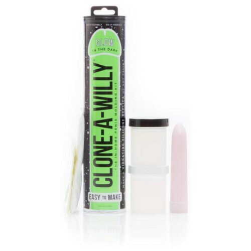 Clone A Willy Kit Vibrating - Glow In The Dark