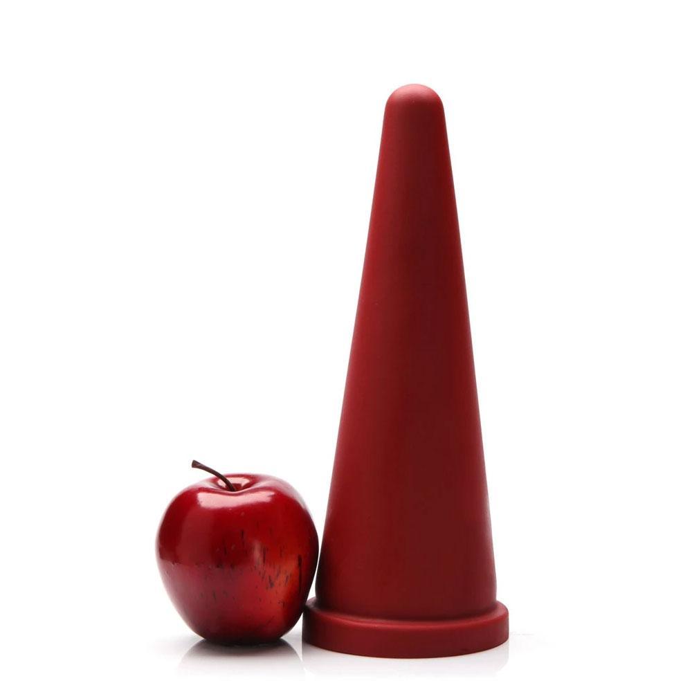 Tantus Cone Dildo Large  - Red