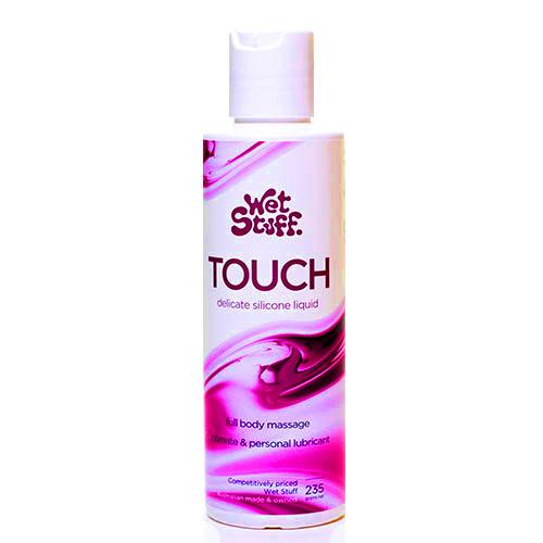 Wet Stuff Touch Silicone Lubricant & Massage 235g