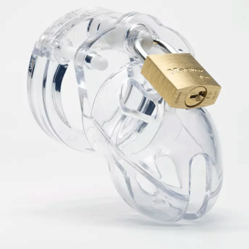 CB-X Mr Stubb Male Chastity Device - Clear