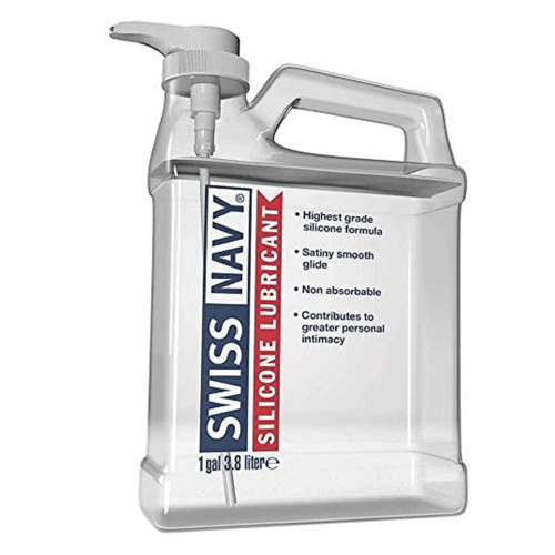 Swiss Navy Silicone Lubricant 3.8 Litre
