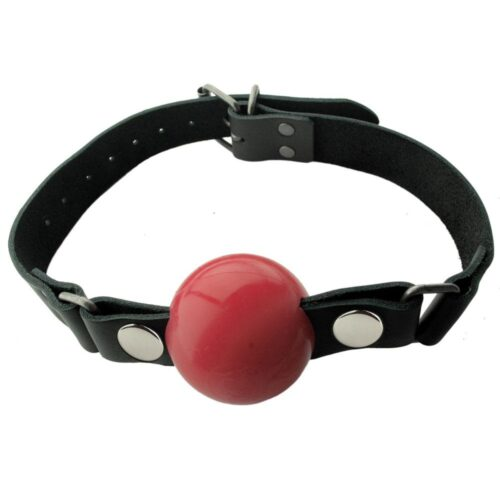 Spartacus Silicone Ball Gag 2 Inch - Red
