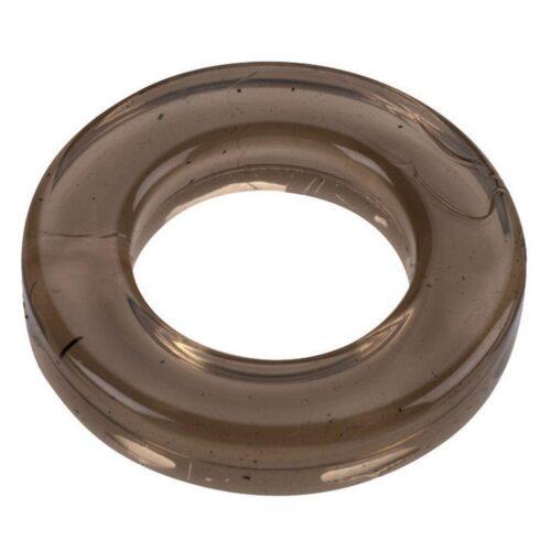 Spartacus Elastomer Cock Ring Metro Fit - Black
