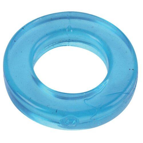 Spartacus Elastomer Cock Ring Metro Fit - Blue