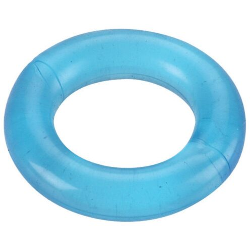 Spartacus Elastomer Cock Ring Relaxed Fit - Blue