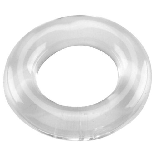 Spartacus Elastomer Cock Ring Relaxed Fit - Clear