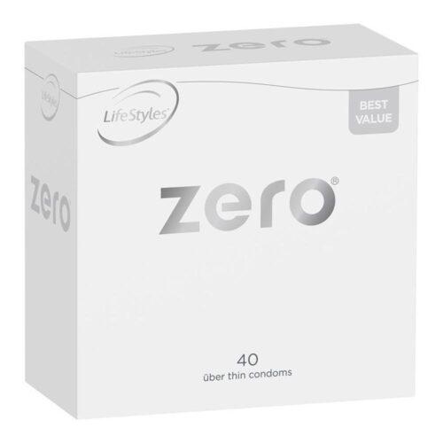 LifeStyles Zero Über Thin Condoms 40 Pack