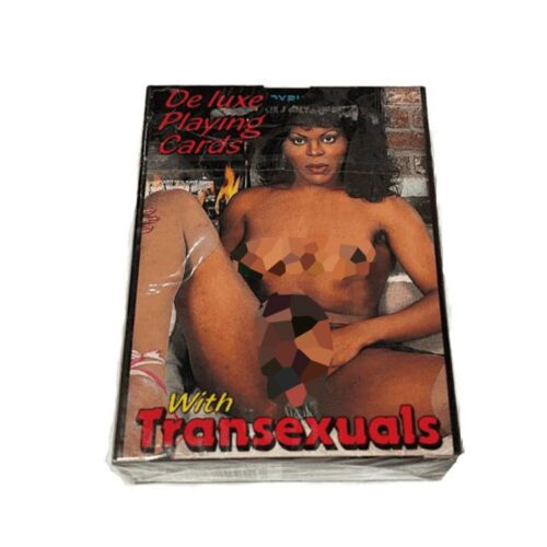 De Luxe Transsexual Playing Cards