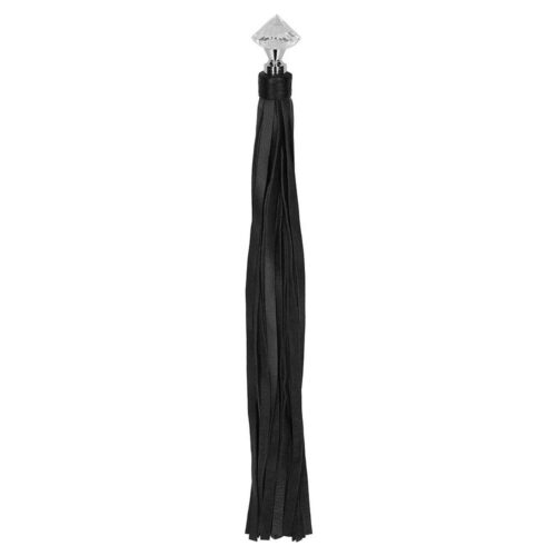 Shots Ouch! Pain Sparkling Pointed Handle Flogger