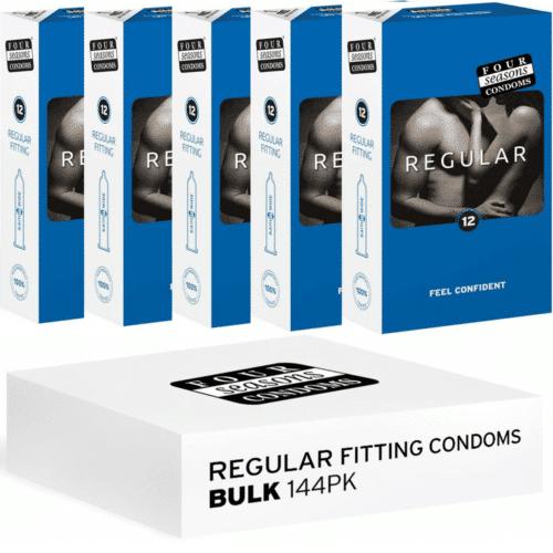 Four Seasons Regular Condoms 144 Pack
